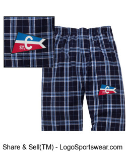 Flannel Pants - Youth Design Zoom